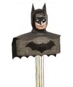 Pinata Batman à tirer idéale pour une réaliser la déco d'un anniversaire Batman ou DC Comics