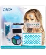Kit de maquillage sirène, un kit complet pour vous permettre de réaliser facilement votre maquillage