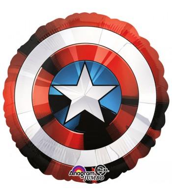Ballon Hélium Bouclier Captain America