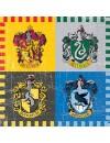 16 petites serviettes Harry Potter