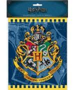 8 sacs cadeaux Harry Potter, un set idéal pour vos invités à l'occasion d'un anniversaire Harry Potter