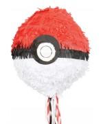 Pinata Pokéball idéale pour réaliser une décoration d'anniversaire sur le thème Pokemon