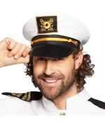 Casquette de marin, incarnez un capitaine de bateau à l'occasion d'une fête ou d'un carnaval