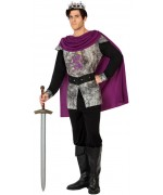 Déguisement roi médiéval homme, incarnez le roi Arthur à l'occasion des fêtes médiévales