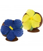 Gobelet en forme de noix de coco idéal pour réaliser votre déco tropicale
