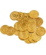 24 pièces d'or du pirate idéales pour réaliser une décoration sur le thème des pirates