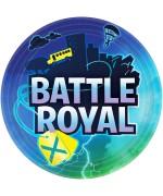8 assiettes Battle Royal réalisez votre décoration de table Fortnite et jeux vidéo pour son anniversaire