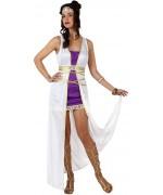 Déguisement de déesse romaine pour femme avec robe et bandeau - Pays du monde