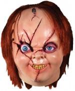 Masque de Chucky en latex, masque intégral en latex sous licence officielle Chucky