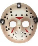 Masque Jason Vendredi 13, demi-masque en mousse sous licence officielle