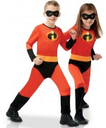 Déguisement Les indestructible pour enfants avec combinaison et masque - Costume Disney officiel