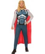 Déguisement de Thor pour homme avec combinaison et cape sous licence officielle Disney Marvel