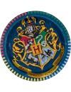 8 assiettes Harry Potter en carton 18 cm