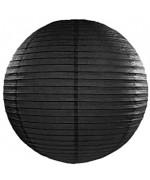 Lampion noir en papier, réaliser votre décoration code Black ou pour Halloween
