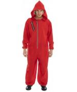 Combinaison rouge, déguisement de braqueur Espagnol pour adulte