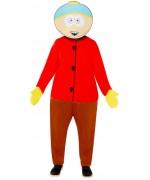 Déguisement de Cartman pour adulte sous licence officielle South Park avec combinaison et masque