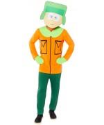South Park - déguisement de Kyle sous licence officielle avec combinaison et masque - Dessin animé 90's