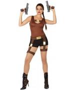 deguisement Lara Croft l'aventurière - déguisements personnages de jeux vidéo