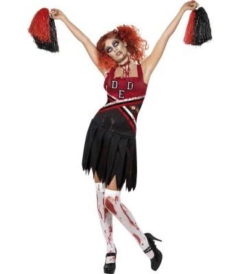 Déguisement zombie pom-pom girl halloween