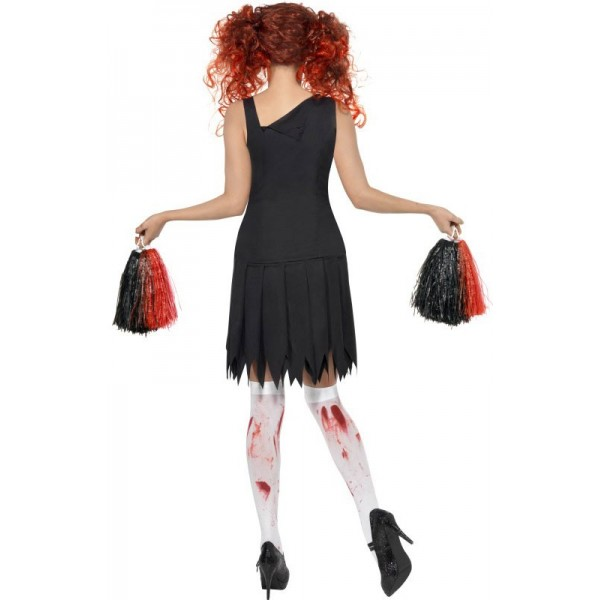 d guisement zombie pompom girl halloween la magie du deguisement zombies et monstres. Black Bedroom Furniture Sets. Home Design Ideas