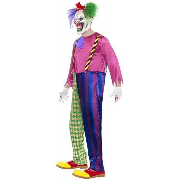 d guisement clown tueur halloween la magie du d guisement achat costumes et deguisement adultes. Black Bedroom Furniture Sets. Home Design Ideas