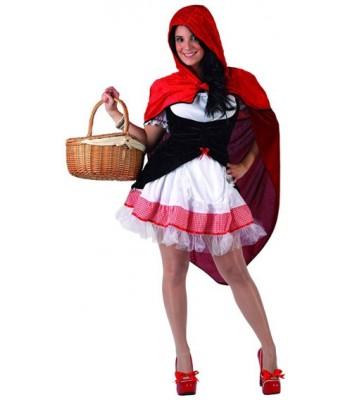 Déguisement chaperon rouge sexy pour femme