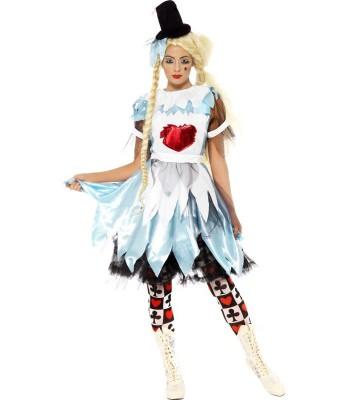 Déguisement Alice Halloween femme