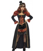déguisement victorian vampiress steam punk