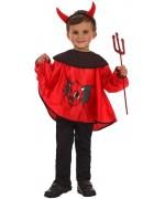 déguisement gentil diable pour garçon de 3 à 4 ans