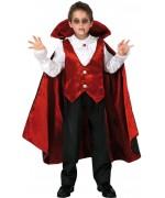 Déguisement de vampire pour garçon de 3 à 12 ans - costume halloween
