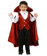deguisement de vampire rouge pour enfant - Halloween