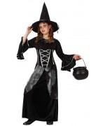 déguisement sorcière noire fille halloween