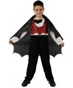 déguisement halloween enfant, vampire chauve souris