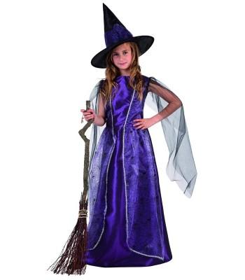 déguisement sorcière violette enfant