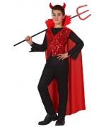 déguisement diable infernal enfant - démon halloween