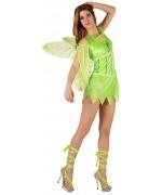 Déguisement fée verte sexy pour femme - la magie du déguisement