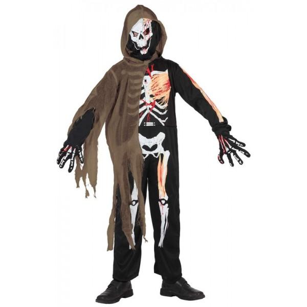 d guisement squelette halloween enfant la magie du. Black Bedroom Furniture Sets. Home Design Ideas