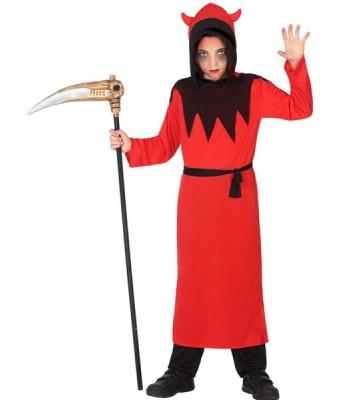 Déguisement diable rouge et noir enfant
