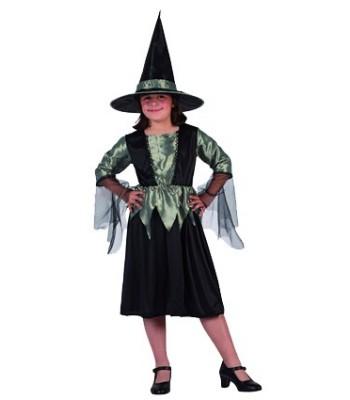 déguisement petite sorcière verte