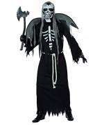 deguisement squelette zombie pour adulte, costume halloween