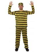 Déguisement de prisonnier dalton pour homme - la magie du déguisement