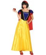 Déguisement princesse blanche neige adulte, incarnez une ravissante princesse digne des dessins animés Disney