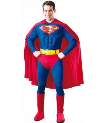 Déguisement Superman adulte luxe