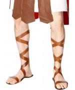 Sandales romaines avec lanières simili cuir - BZ125A