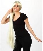 longue perruque blonde pour femme