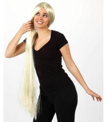 perruque blonde extra longue