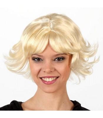 Perruque blonde dégradée femme