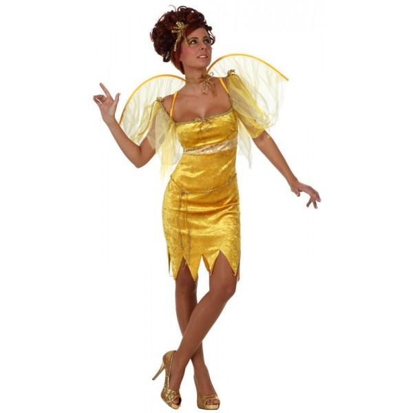 d guisement de f e jaune adulte la magie du d guisement achat de costumes et deguisements adultes. Black Bedroom Furniture Sets. Home Design Ideas