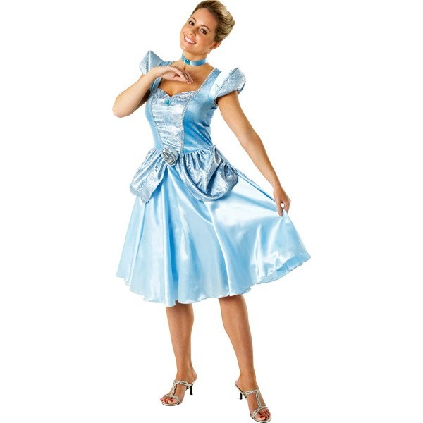 Deguisement Cendrillon Disney pour femme , Costume princesse Disney adulte