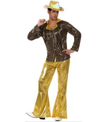 déguisement disco or homme